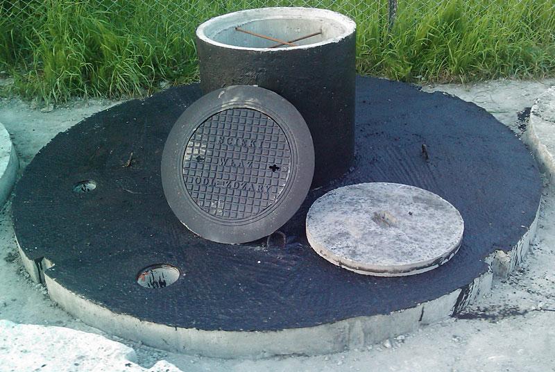 Elementy dodatkowe do zbiornika na szambo
