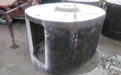 Szamba betonowe wykorzystywane jako ziemianka ogrodowa